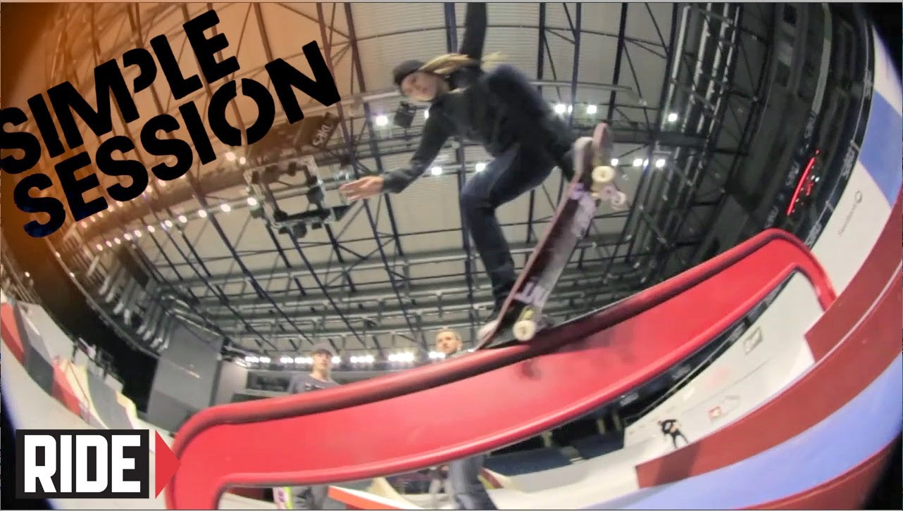 Ryan Sheckler, Greg Lutzka, Phil Zwijsen & More – Simple Session 2014