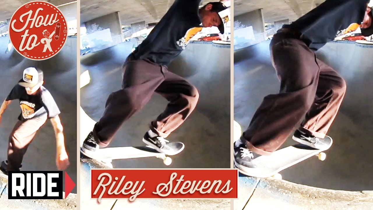 How-To Skateboarding: Backside Tailslide Revert with Riley Stevens