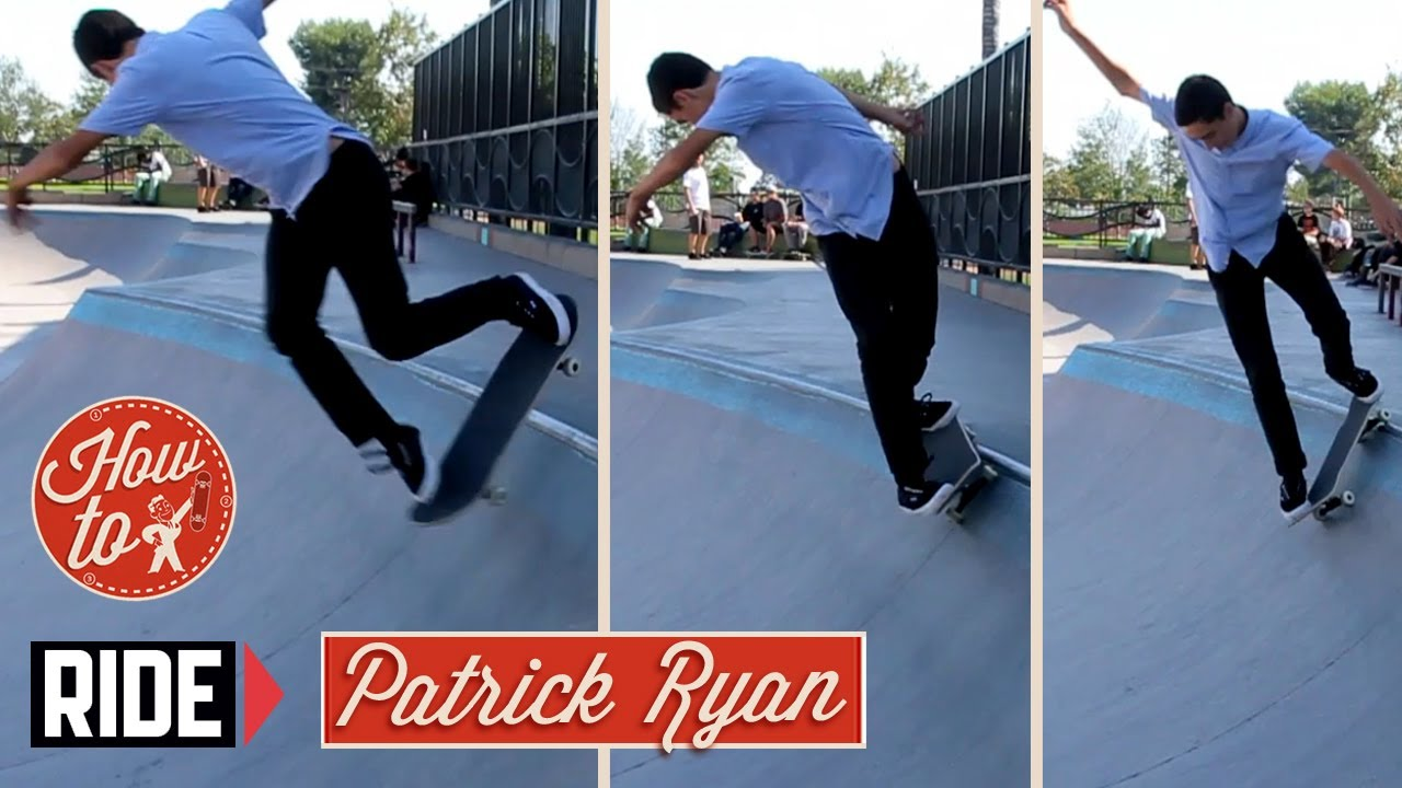 How-To Skateboarding: Backside Sugarcane with Patrick Ryan