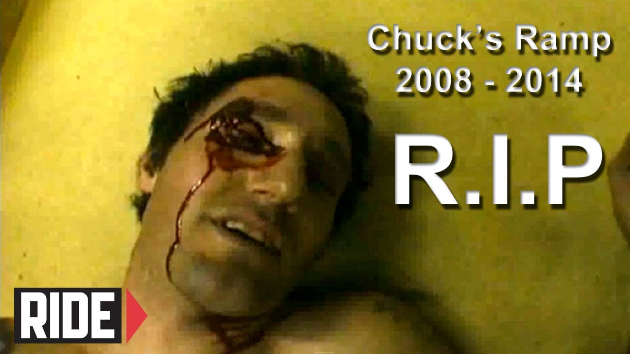 BIG Slam – Mini Ramp: Chuck's Ramp R.I.P Vid from 808 Skate