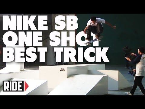 "Nike SB ""One Shot"" Best Trick – Barcelona"