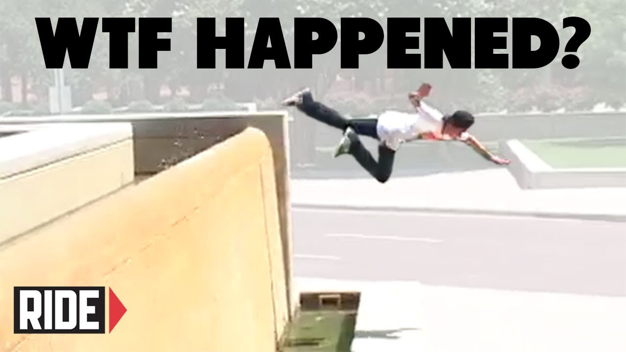 WTF Just Happened? Skateboarding Slams – Peter Woychick