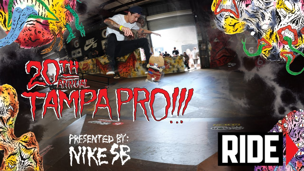 Ishod Wair, Nyjah Huston, and More  – Tampa Pro 2014 – Day 2