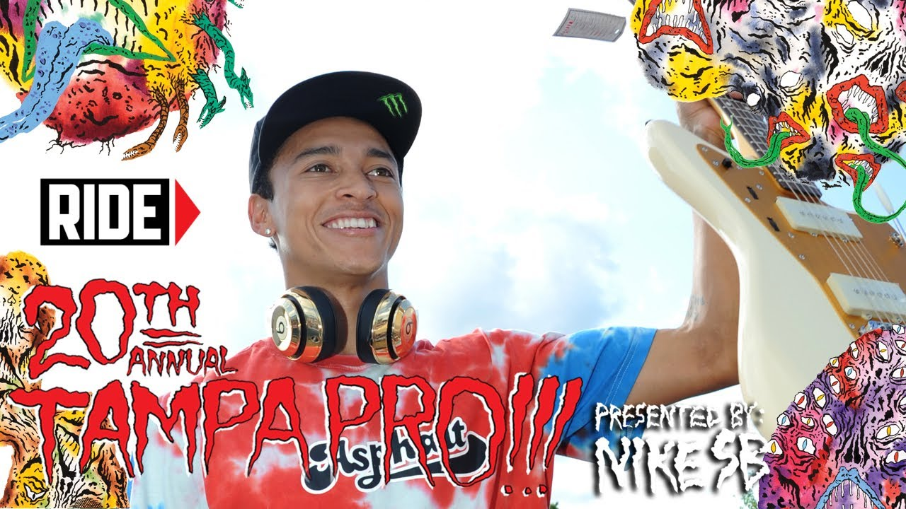 How Nyjah Houston Won Tampa Pro 2014