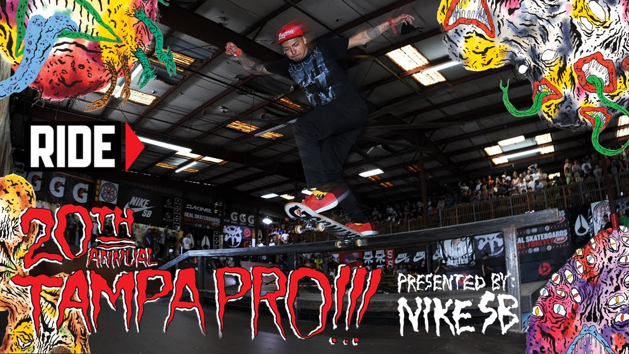 Tampa Pro 2014 Finals – Nyjah Huston, Chaz Ortiz, and Alec Majerus