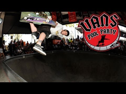 Vans Pool Party 2014: Jeff Grosso's Runs