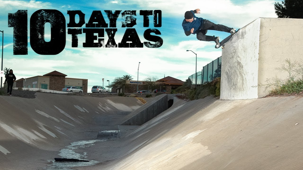 "Converse ""10 Days to Texas"" full video"