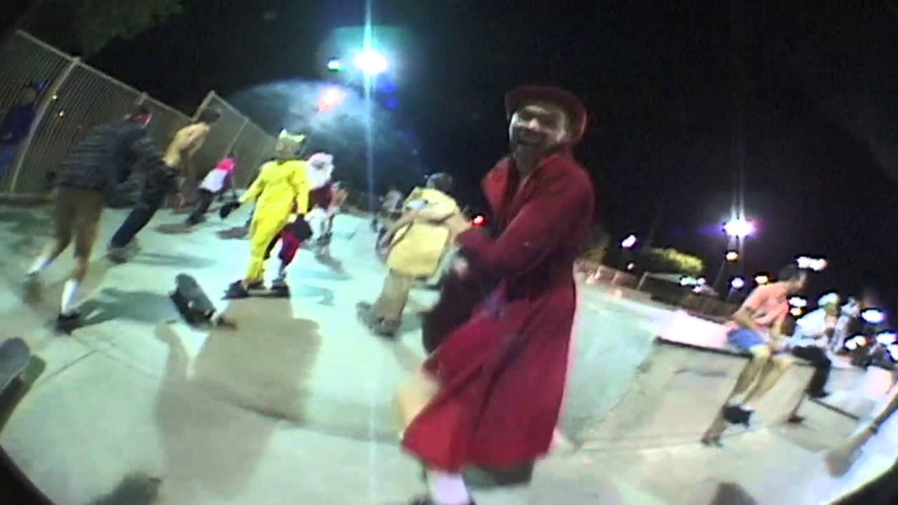Halloween Tempe skatepark 2012