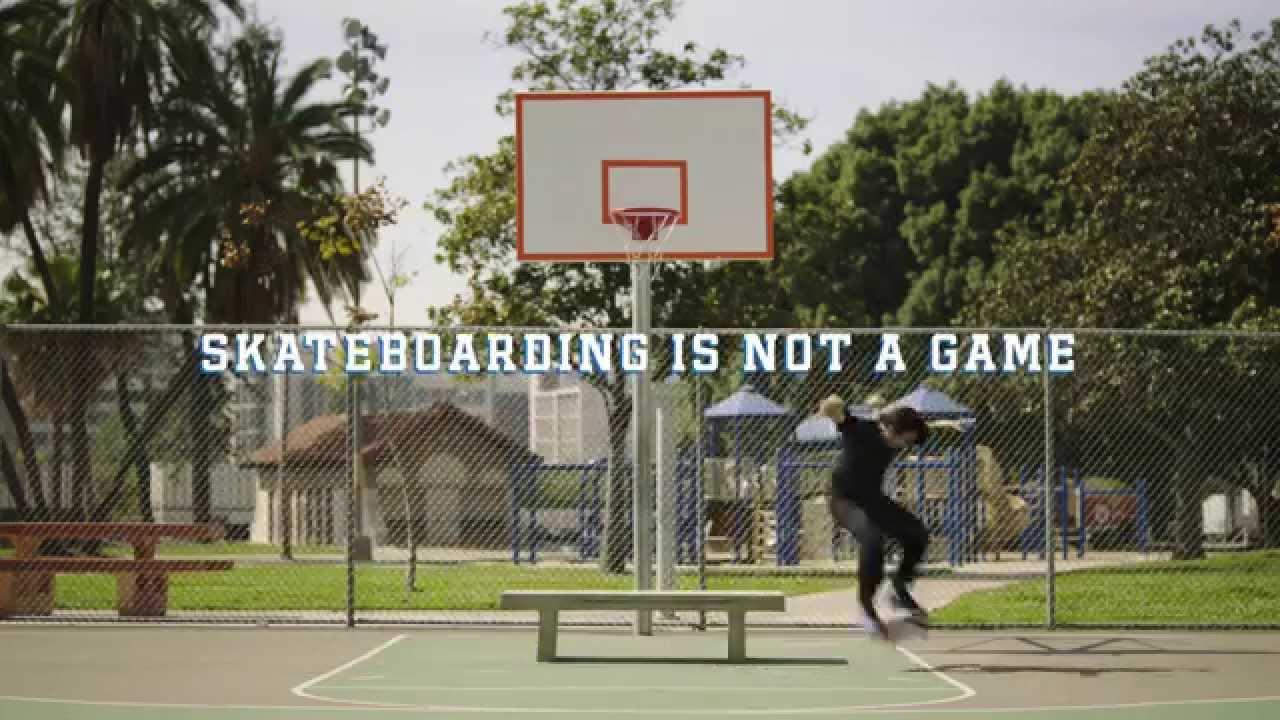 """Sneak Peek"" – Nike SB presents Skateboarding Is Not a Game"