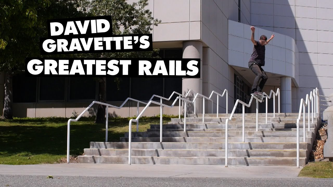 David Gravette's Greatest Rails