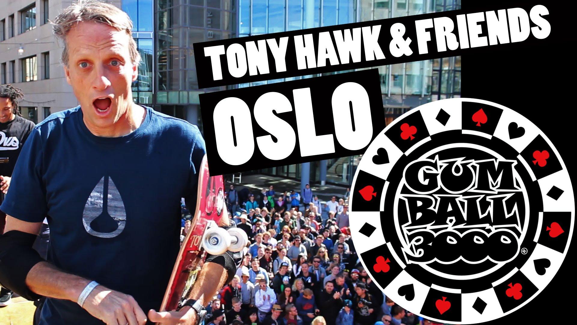 TONY HAWK & FRIENDS OSLO GUMBALL 3000