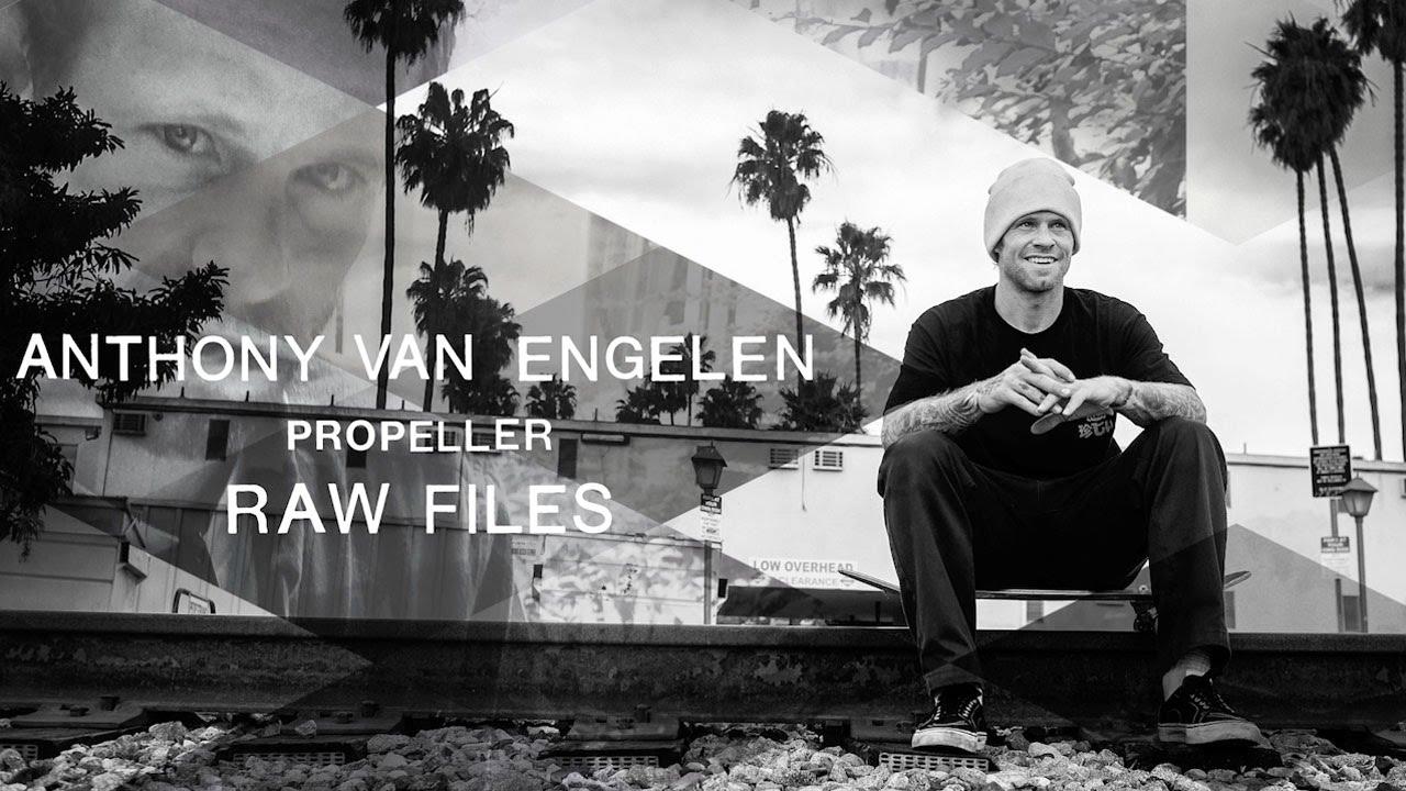"""Anthony Van Engelen's """"Propeller"""" RAW FILES"""