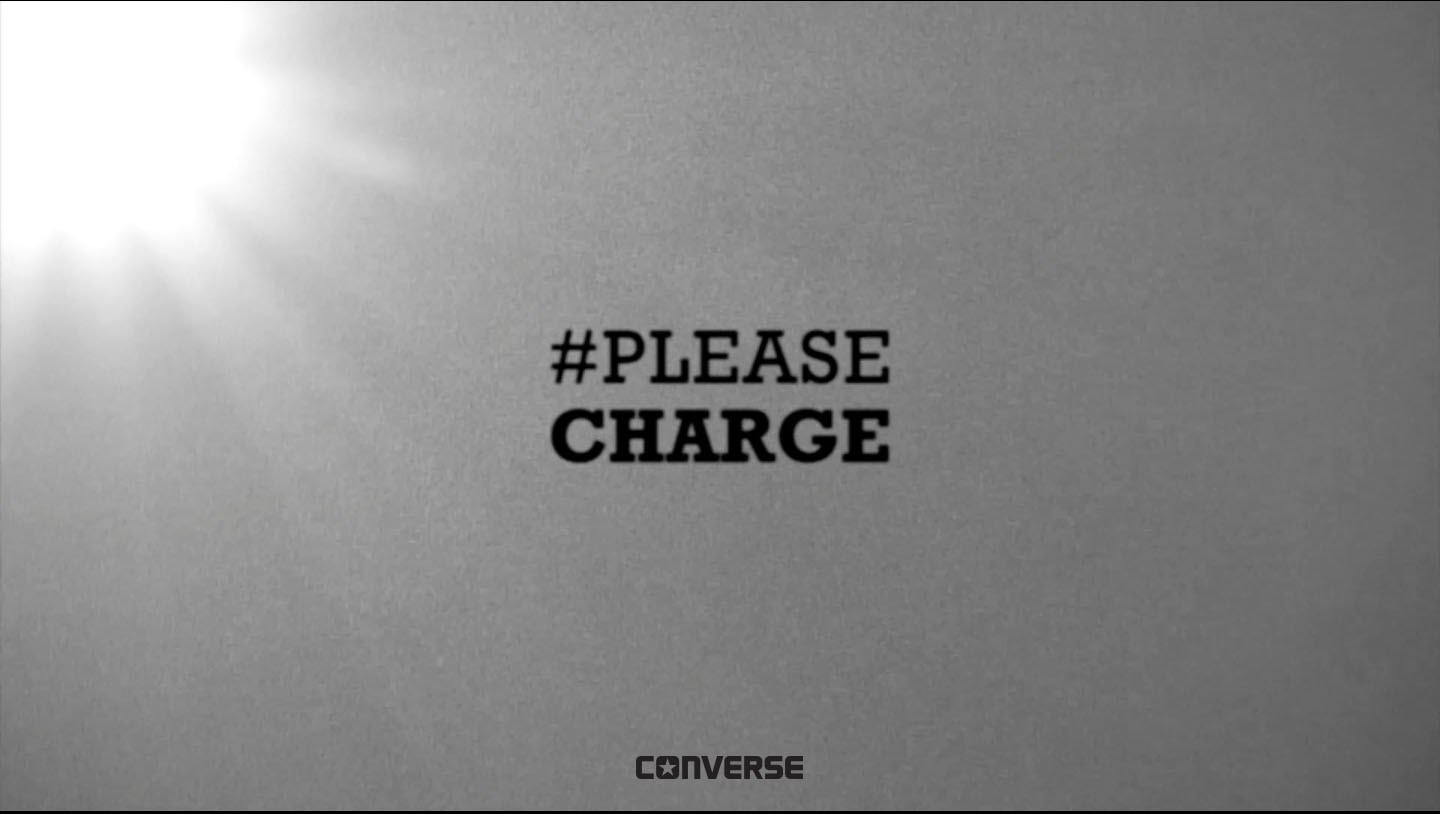 Converse presents #Pleasecharge
